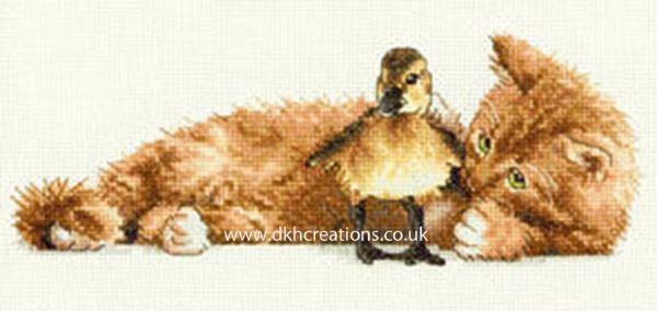 Furry Friends Cross Stitch Kit